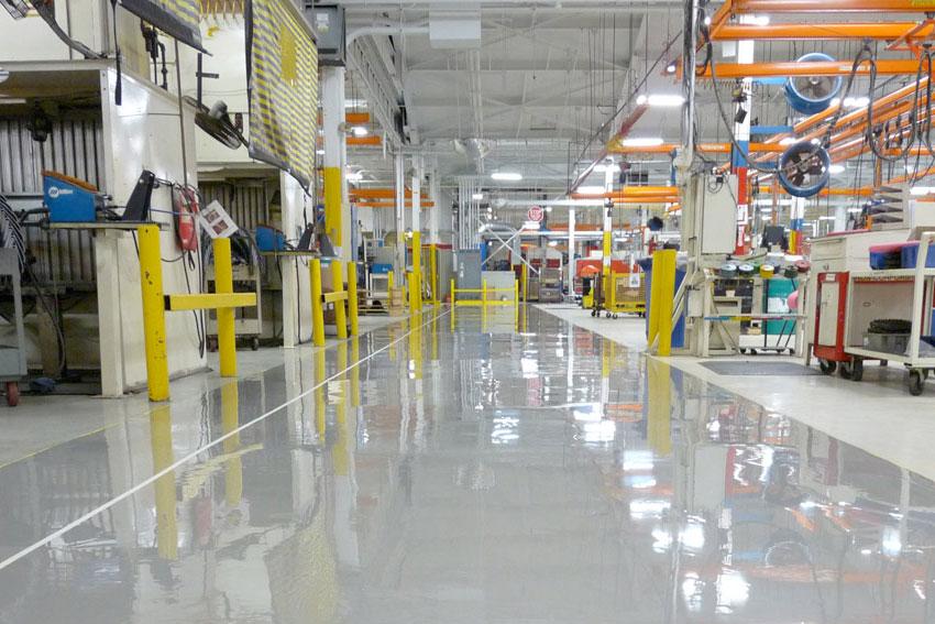 Vloercoating – Bedrijfsvloerencoating