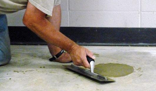 Bedrijfsvloercoating - vloerreparatie